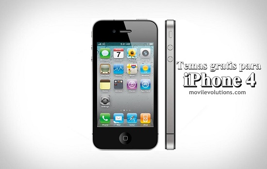 Temas gratis para iPhone 4