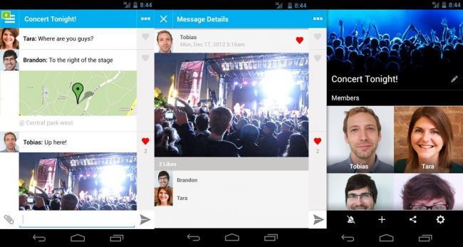 Aplicaciones de mensajería gratis