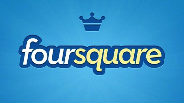 Foursquare para iPhone