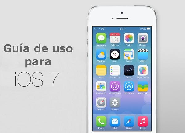 Guía de uso para iOS 7