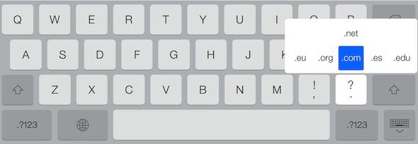 Teclado iOS 7-1