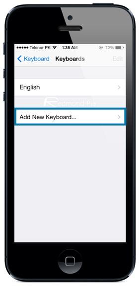 activar el teclado emoji