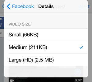 aplicación de Facebook2