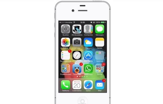 cambiar animación en el iPhone