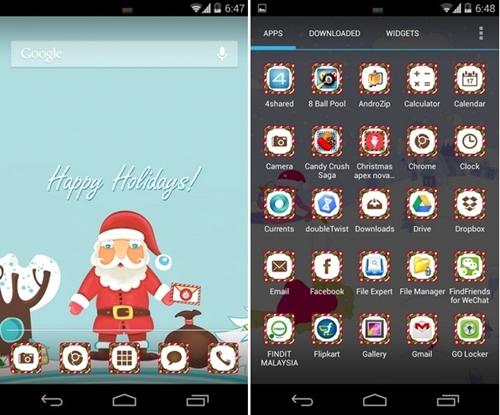 Aplicaciones para navidad gratuitas