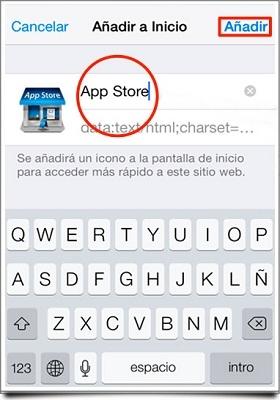 cambiar los íconos del iPhone