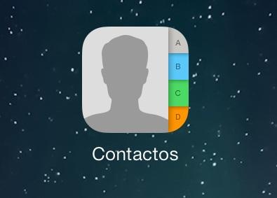 combinar contactos duplicados en iOS 7