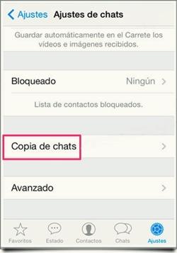 copia de seguridad de tus Chats de WhatsApp 3