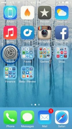 eliminar el historial web de safari iOS 7