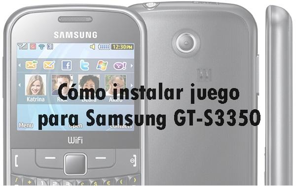 juegos para samsung gt-s3350