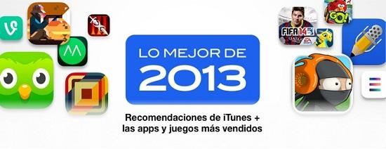 los mejores juegos y aplicaciones del 2013 según Apple
