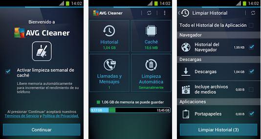 AVG-Cleaner-Gratis-Android-libera-memoria-y-mejora-la-velocidad-de-tu-móvil