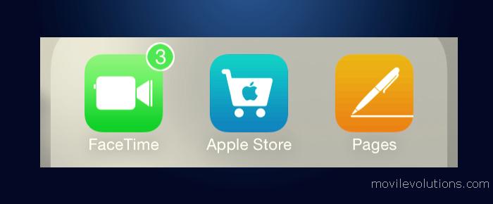 colorear insignias de aplicaciones en iOS