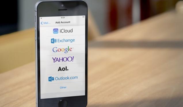 configurar mi cuenta de Hotmail con el iPhone1