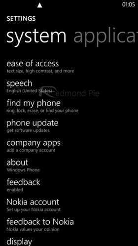 fondos negro para windows Phone