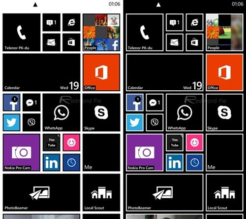 fondos negro para windows Phone3