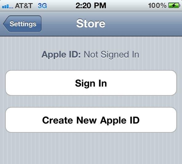App-Store-Apple-ID