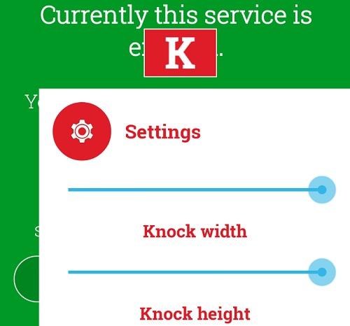 Knock Lock para Android-