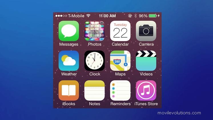 aplicación de fotos del iPhone