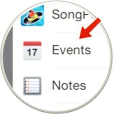crear un evento desde ios-6