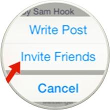 invitar a alguien a un evento de Facebook-2