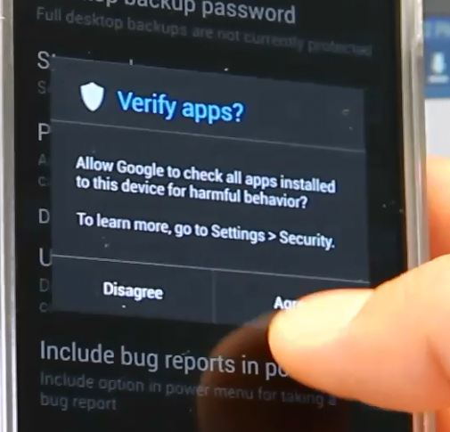howto-root-galaxys4-verifyapps