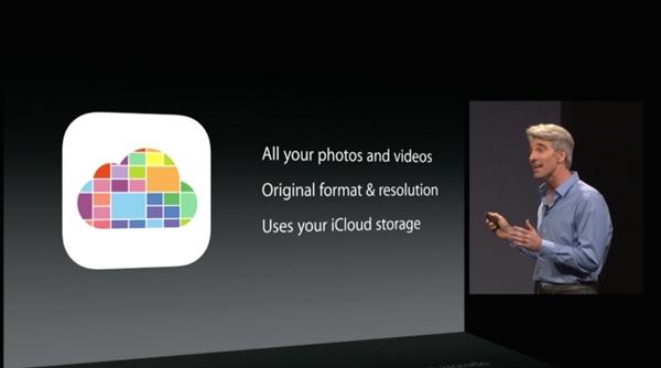 aplicación fotos iOS 8