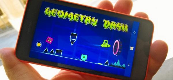 Geometry Dash para Windows Phone 8