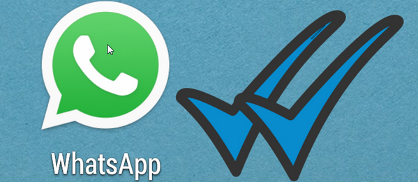 confirmacion doble check de whatsapp