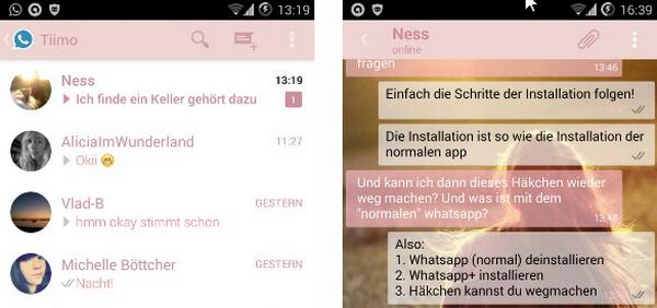 WhatsApp plus para Android