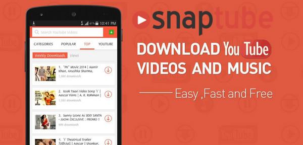 SnapTube en Android
