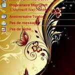 Tema Gold and Red