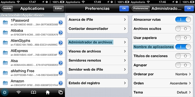 fabebook chat para iphone7